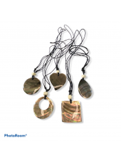SHELL NECKLACE BLACK ABALONE
