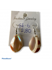 SHELL EARRING ΝAUTILUS